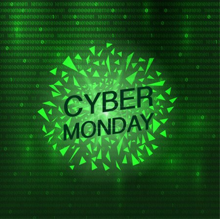 Cyber Monday explosion shards