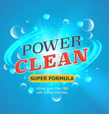 Power clean super formula
