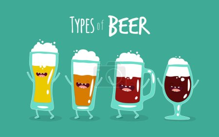 Funny types of beer