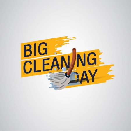 Illustration for Cleaning Logo - Vector Illustration - Royalty Free Image