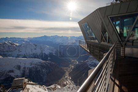 """upper station of """"Skyway Monte Bianco"""""""