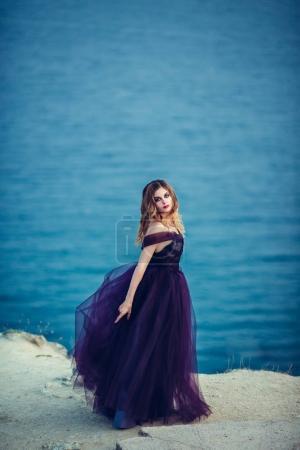 Beautiful young stylish woman