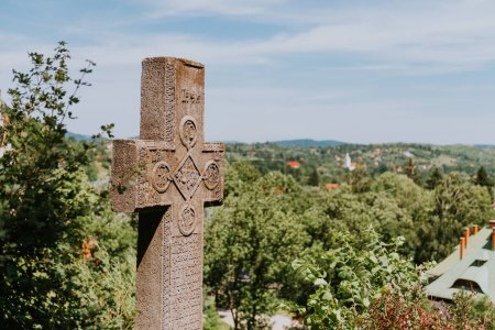 Photo for Close up of christian cross - Royalty Free Image