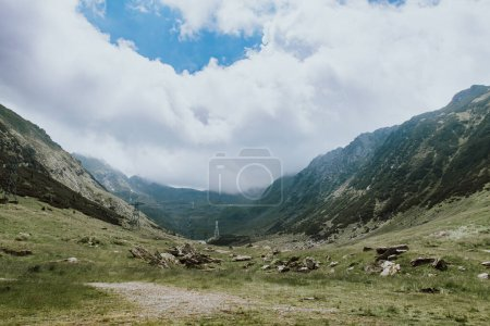 Photo for Beautiful mountain landscape in summertime - Royalty Free Image