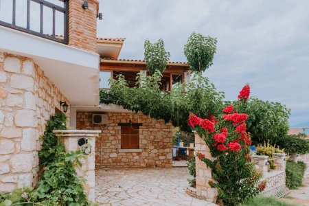 Photo for View from the terrace of luxury villa - Royalty Free Image