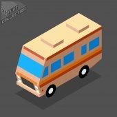 3d camping car