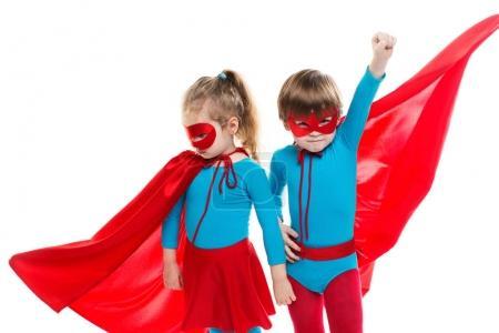 Funny superheroes. Dreamers.