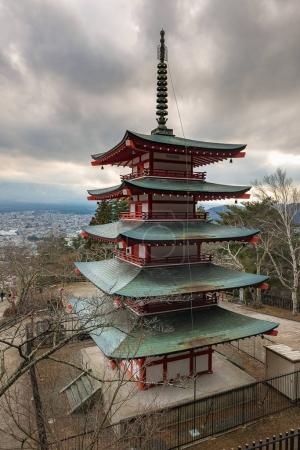 Chureito Pagoda in Yamanashi, Japan