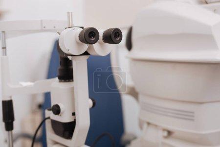 Selective focus of special binoculars