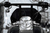 Pictures of authentic old school motorbike details