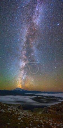Milky Way over Mount