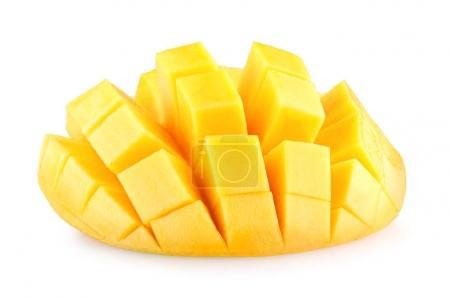 Ripe mango slice
