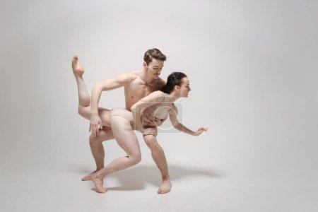 Eccentric dance couple