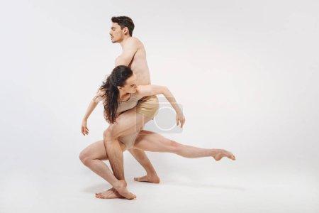 gymnasts showing their choreography
