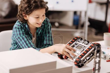 Smart child programming robot