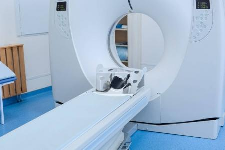 Close up of a CT scanner