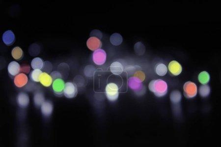 Photo pour Nouvel an coloré fond bokeh - image libre de droit