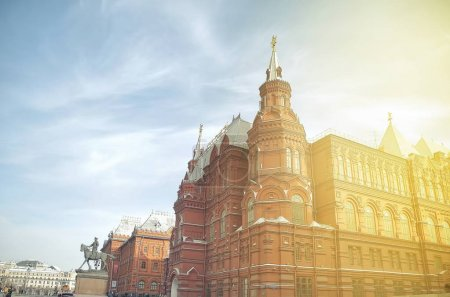 ancient building in Moscow