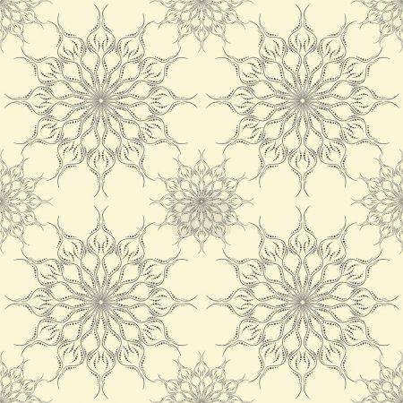 Beautiful ornament seamless pattern