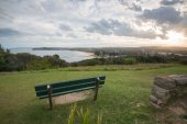 Mona Vale Headland sunset, Mona Vale, NSW, Australia.