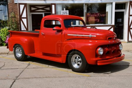 1952 restored Ford F1 pickup