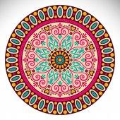 Vektorové indická Mandala