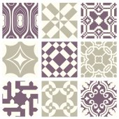 Classic vintage elegant pastel violet seamless abstract pattern 01