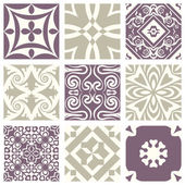 Classic vintage elegant pastel violet seamless abstract pattern 06