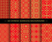 Seamless Chinese pattern background can be used for wallpaper web page background surface textures
