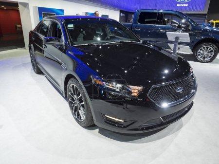 NEW YORK, US - APRIL 12, 2017: Ford Taurus SHO on ...