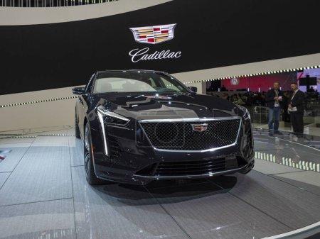 Cadillac CT6 at the 2018