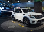 Nissan Armada at the 2018 New York International Auto Show