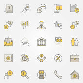 Loan colorful icons