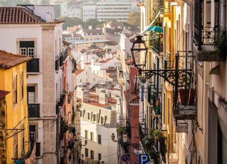 Architecture in Old Town of Lisbon