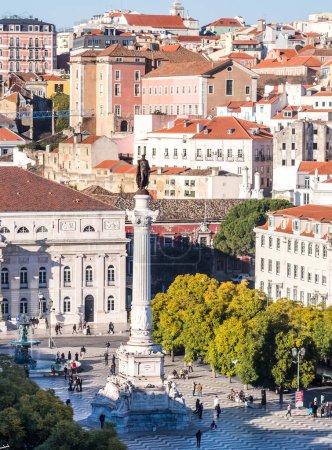 Column of Pedro IV in Lisbon