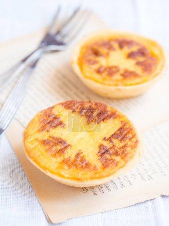Queijada, traditional Portuguese tart pastry