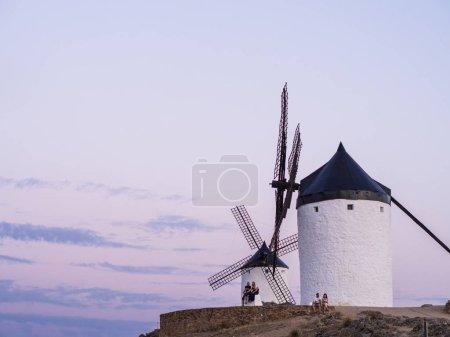 Windmills in Toledo Province