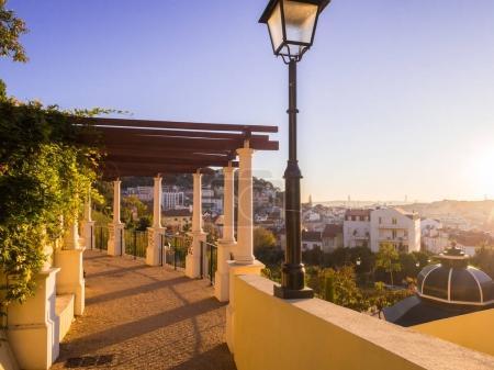 Jardim da Cerca da Graca in Lisbon