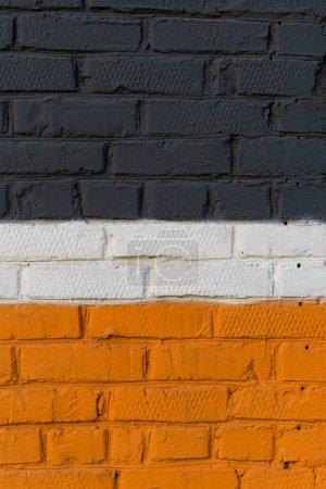 Foto de Textura de pared de ladrillo de color - Imagen libre de derechos