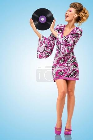 fashionable hippie girl