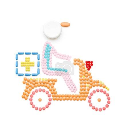 Creative medicine and healthcare concept