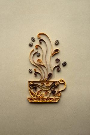 Hot drink - creative concept photo.