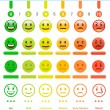 Pain Scale templates, vector illustration...