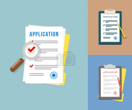Application Forms set