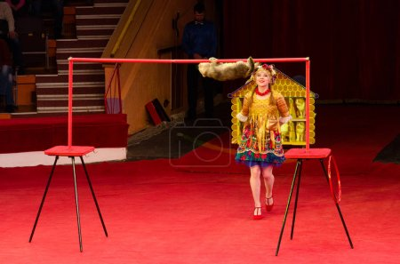 Tour of Moscow State Circus named after Nikulin. Cat Games under leadership of Julia Silantieva