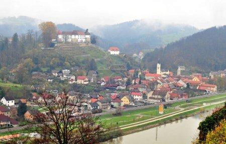 Castle in Sevnica Slovenia childhood