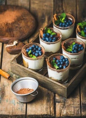 Homemade Tiramisu desserts