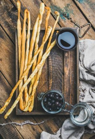Grissini bread sticks