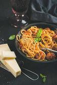 """Постер, картина, фотообои """"Итальянская паста ужин"""""""