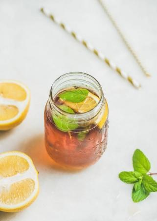 Summer cold Iced tea